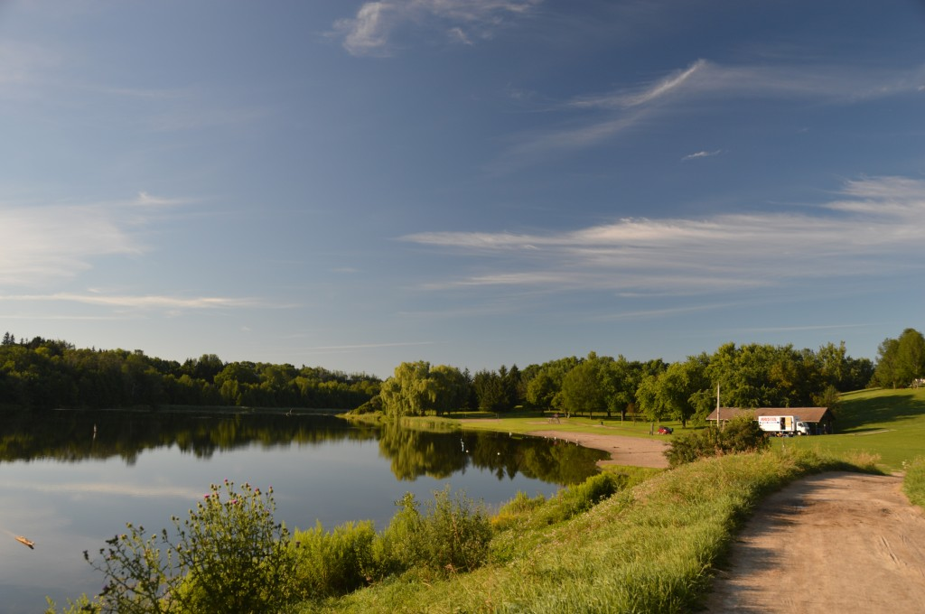 early morning at Tottenham Conservation area