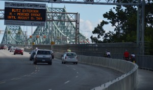 Jacques Cartier bridge