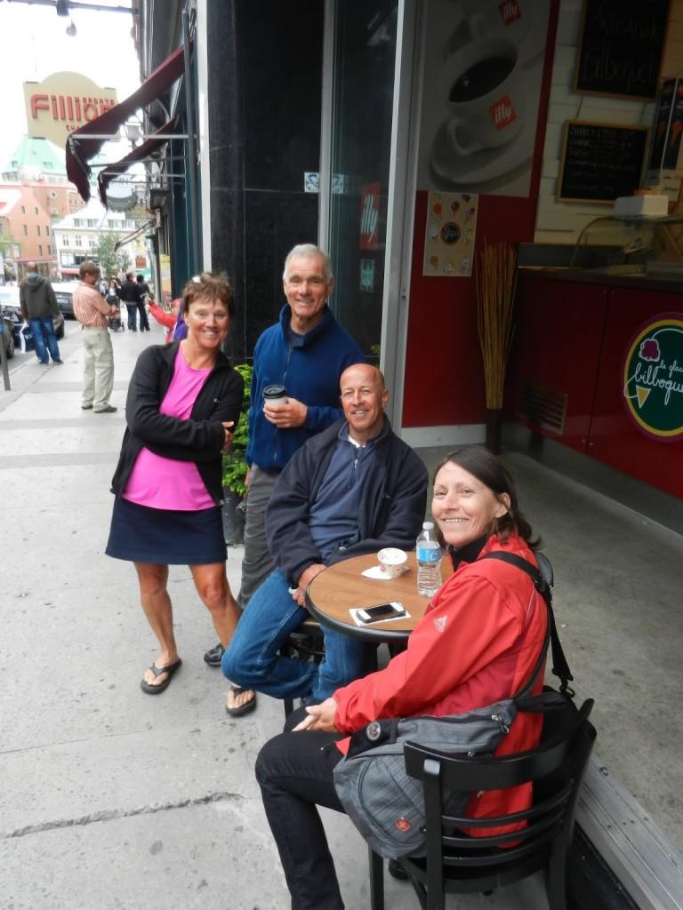 Carol, Danny, Dan, & Joyce in Old Town