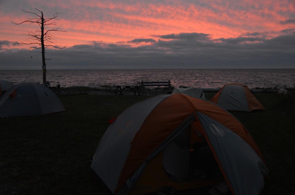 foreboding sunrise