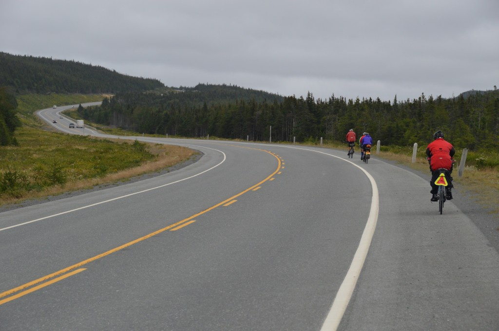 eastbound on the TCH, Newfoundland