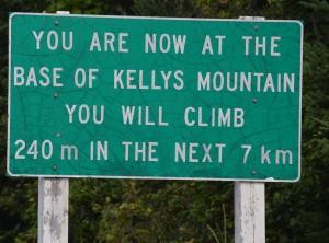 our last big climb